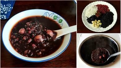 教你煮養生粥,睡前煮,早上喝,每週喝2碗,氣色更紅潤