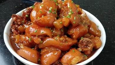 豬腳這一做法實在太好吃了,簡單易學,鹹香味美,出鍋看到都想吃