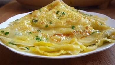 教你蔥花雞蛋餅好吃又快速做法,10分鐘搞定,比外面賣的好吃多了