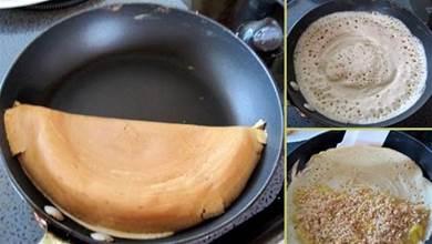 曼煎糕的做法, 只需用到平底鍋, 薄的厚的都能輕鬆在家做!
