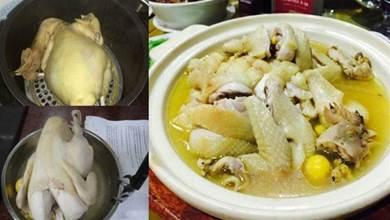 隔水蒸雞的正確做法, 大廚教你加多一步, 雞肉嫩滑細膩還入味