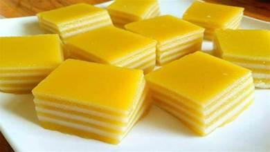 南瓜別煮著吃了,教你「南瓜椰汁千層糕」的做法,清涼爽滑又Q彈