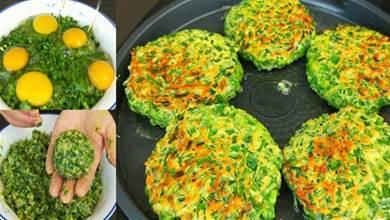 半斤韭菜,5個雞蛋,教你一個新鮮的做法,連吃10天也不膩,香