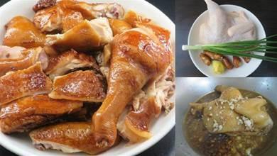 半碗醬油做正宗的醬油雞,廣東老師傅的秘方,皮香肉嫩,還特別入味