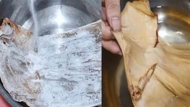 幹魷魚只會用水泡就錯了,老漁民教你一招,乾貨立馬變海鮮!