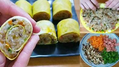 糯米又出新做法,比粽子還好吃,早餐再也不用買了,營養又解饞