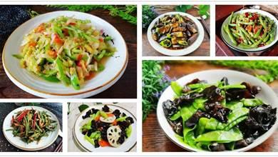 10道初秋時令蔬菜做法,都是好吃不貴的家常菜,祛秋燥不上火