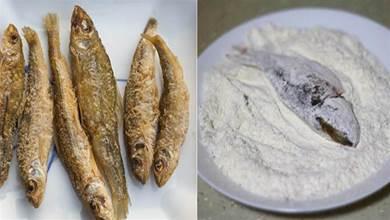 炸魚,應該裹麵粉還是裹澱粉?很多人用錯粉,難怪不酥脆