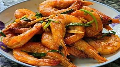 家常版椒鹽大蝦,又香又好吃,這一道家常菜,下飯下酒都受歡迎