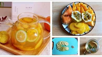秋季天氣乾燥,補水潤燥,我家常喝這水果茶,補充維C