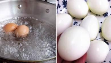 煮雞蛋,不能水開就下鍋煮,牢記4點,蛋殼一碰就掉,營養鮮嫩