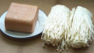 金針菇,加1盒午餐肉,教你新吃法,營養好吃又下飯