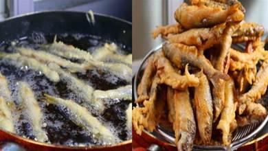 炸魚酥時,有人用麵粉,有的人用澱粉,都不對!大廚教你正確做法