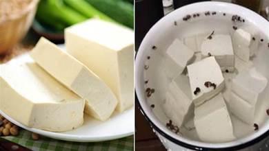 保存豆腐不要放冰箱,老師傅教我一訣竅,放十天依舊新鮮,太實用