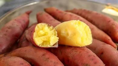 蒸紅薯,應該用涼水蒸還是開水蒸?牢記3點,紅薯又香又甜超好吃
