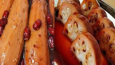 紅糖糯米藕怎麼做才好吃?教你3個技巧,入口軟糯美味,甜而不膩