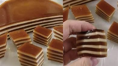 千層馬蹄糕總是層次不明顯?掌握關鍵一點,層次分明,軟糯香甜