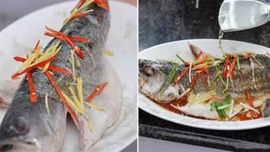 清蒸魚,去腥別再用鹽用酒了!教你正確做法,又鮮又嫩,沒腥味