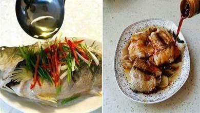 做清蒸魚,先淋熱油還是先放豉油?順序弄反了,不鮮嫩也不入味