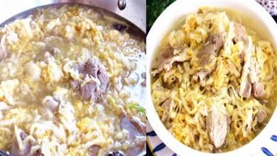 燉酸菜,牢記酸菜不能直接下鍋,大廚教您一招,入味解饞還不膩