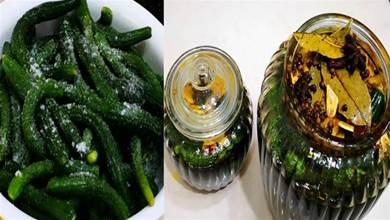 醃黃瓜時,只會加鹽就外行了,多加1味調料,又脆又綠格外香