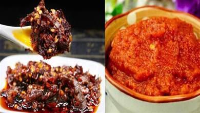 17種辣椒醬的做法,香辣過癮,愛吃辣必收藏