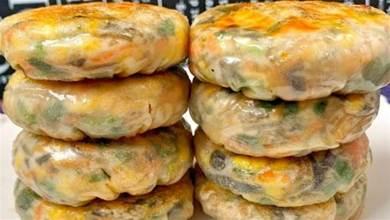 12種家常餡餅,做法簡單、皮薄餡大,早餐換著樣做給家人吃