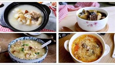 分享6種湯的做法,味美不上火,夏秋交替季節,要常做給家人喝