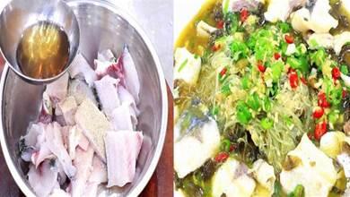 做酸菜魚,酸菜不能直接下鍋煮!牢記3點,魚片嫩滑不碎湯鮮無比