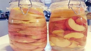 蘋果醋不用買,自己學做,營養健康0添加,5元做1罐能喝一個月