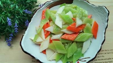 節日家宴素菜小炒,把這三種食材放在一起炒,簡單快手,清淡脆嫩