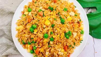 蛋炒飯怎麼炒的粒粒分明?牢記1個訣竅,米飯金黃鬆散,粒粒都香