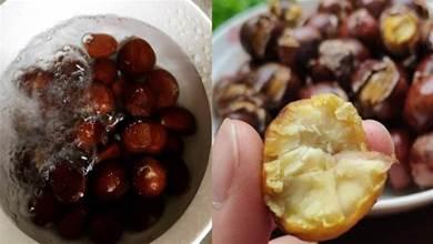 這才是水煮板栗的正確做法!比糖炒栗子好吃,皮脆易剝,香甜可口
