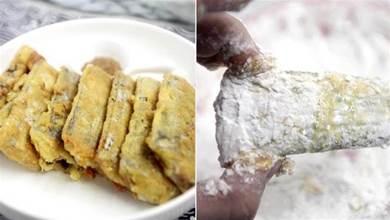 煎帶魚,這種煎法是絕招,帶魚不粘鍋不掉皮,外酥裡嫩太好吃了