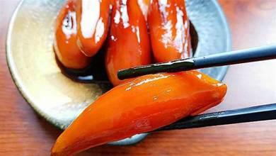 紅薯換個吃法啊,不水蒸不火烤,這樣一做,立刻變成大廚做的菜香甜,香甜軟糯