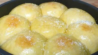 1碗麵粉2個雞蛋,教你在家做麵包,不用烤不用電飯煲,拉絲鬆軟