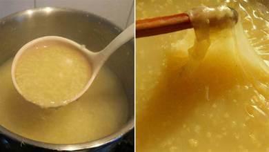 熬小米粥時,記得不要直接下鍋煮,加上一步,米油厚,香噴噴