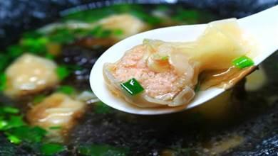 餛飩調湯時,有人用大骨,有人用雞湯,加上此菜,湯鮮味濃還營養