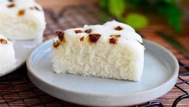 做大米發糕,總是發不起來,記住這幾點關鍵,讓你一次成功,香香糯糯超誘人