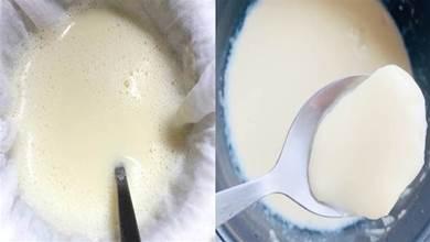 教你在家做豆花,不用石膏和鹽鹵,用雞蛋點豆腐,成本不到2塊