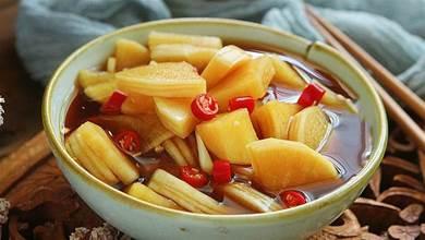 醃蘿蔔最正宗的做法,酸甜開胃解油膩,一夜過後就能吃,還能補水潤燥