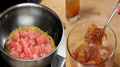 柚子皮別扔,1泡1煮,清香不苦,酸酸甜甜,蜂蜜柚子茶在家輕鬆做