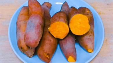 蒸紅薯時,直接上鍋蒸就錯了,教你小竅門,紅薯香甜軟糯又好吃