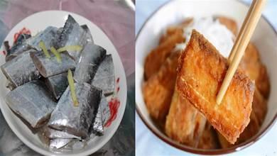 炸帶魚時裹麵糊沾麵粉都不對,飯店都是這麼做的,酥脆好吃不油膩