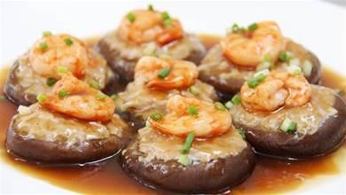6個香菇,6只蝦,二兩肉,簡單好做客家釀,一口一個最過癮