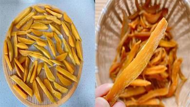 在家自製紅薯乾原來這麼簡單,顏色不發黑香甜有嚼勁,保存時間久