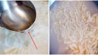 煮麵條,開水下鍋還是冷水下鍋,教你3個訣竅,煮出來的勁道,好吃,不粘連