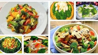 西藍花的14種做法,低脂健康,好吃又好做,不發愁沒得吃