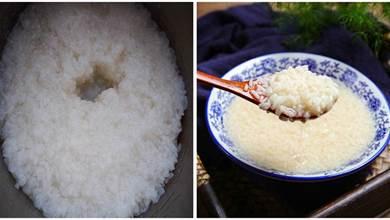 80歲奶奶教你自製米酒,學三個技巧,一次成功,酒甜米香