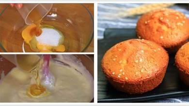 傳統脆皮雞蛋糕,原來做法這麼簡單,外酥裡香,是小時候的味道